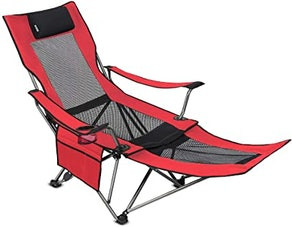 Outdoor Living Suntime Folding Mesh Camp Chair
