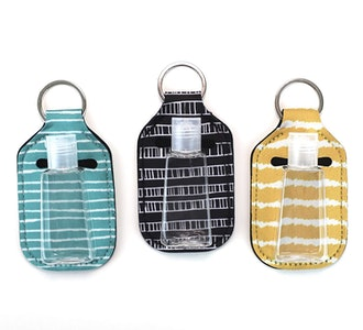 Zario Empty Travel Size Bottle and Keychain Holder