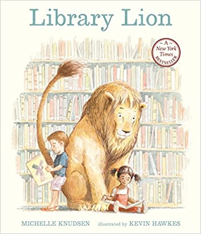 'The Library Lion' by Michelle Knudsen