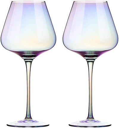 E-liu Red Wine Glasses (Set of 2)