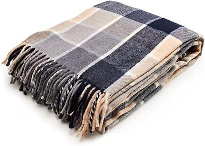 Arus Highlands Collection Tartan Plaid Throw Blanket