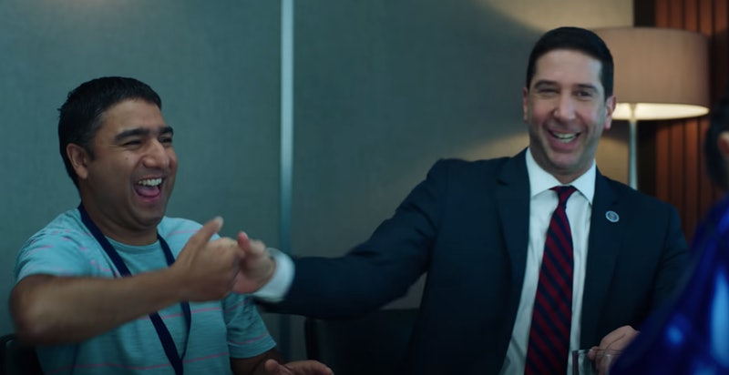 David Schwimmer and Nick Mohammed discuss Intelligence's Season 2 renewal.