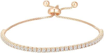 PAVOI 925 Sterling Silver Tennis Bracelet