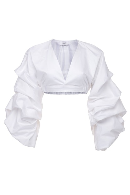 Paradise Ruched Crop Top