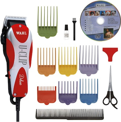 Wahl Professional Animal Deluxe U-Clip Clipper & Grooming Kit
