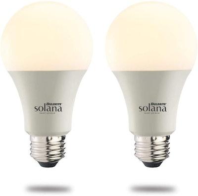 Bulbrite Solana LED Smart Light Bulb (2-Pack)