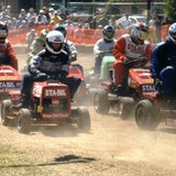 A veteran lawnmower racer on what it takes to zip at 60 miles per hour