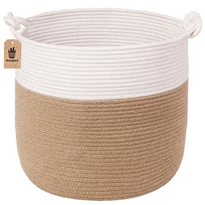 Goodpick Cotton Rope Basket