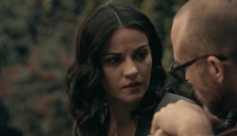 Maite Perroni as Alma Solares in Netflix's 'Dark Desire' ('Oscuro Deseo')
