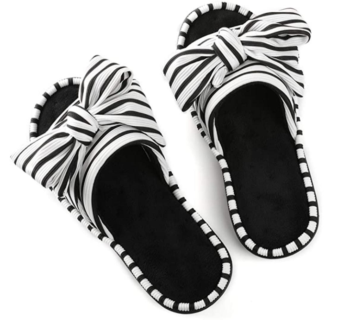 ULTRAIDEAS Open Toe Slippers