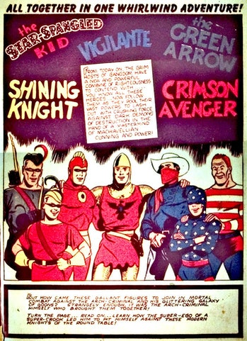 DC Comics Seven Soldiers of Victory