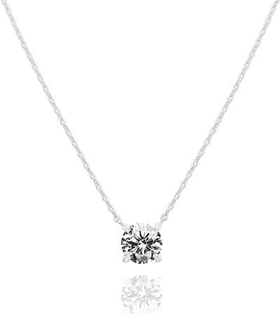 PAVOI 14K Gold Plated Swarovski Crystal Choker Necklace