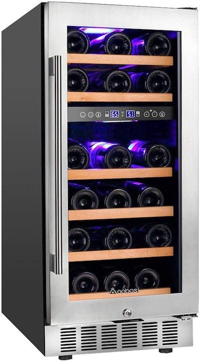 AAOBOSI 28-Bottle Wine Cooler