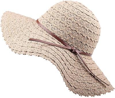 FURTALK Summer Beach Sun Hat