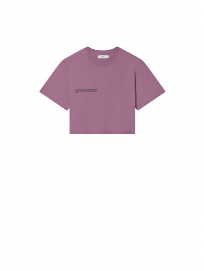 Organic Cotton Crop T-Shirt