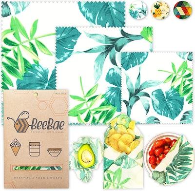 BeeBae Reusable Food Wraps