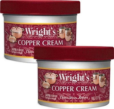 Wright's Copper And Brass Polish And Cleaner Cream (2-Pack)