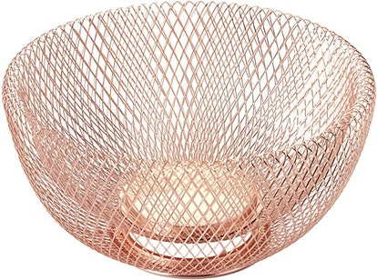 NIFTY Mesh Copper Fruit Bowl
