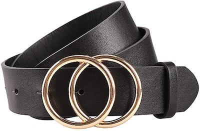 Earnda Women's Leather Belt