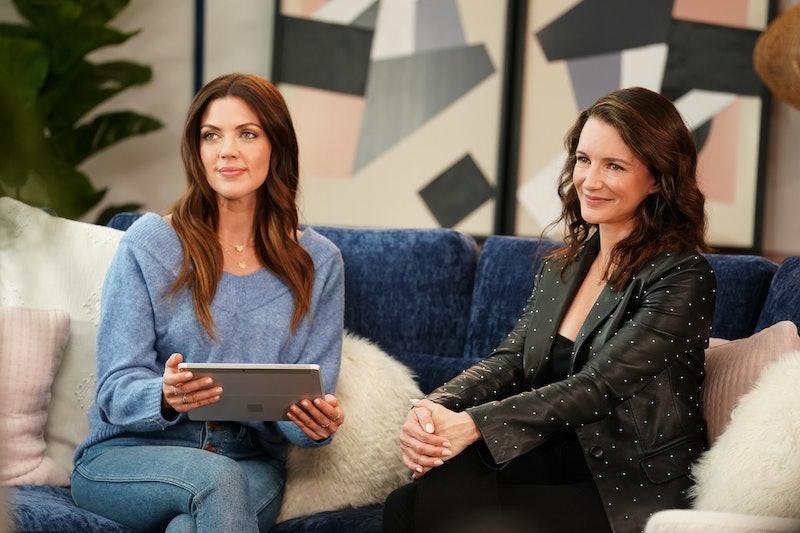 "Kristy Katzmann and host Kristin Davis in the ""Sleepless in Chicago"" season finale episode of Labor of Love via FOX FLASH PRESS SITE"