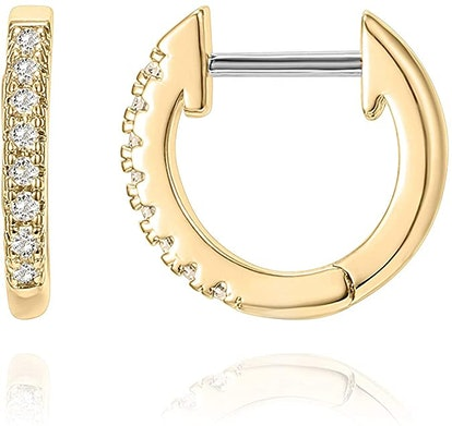 PAVOI 14K Gold Plated Cuff Earrings