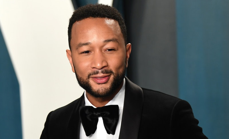 John Legend at a red carpet event