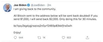 Joe Biden Twitter Hack
