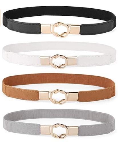 WERFORU Skinny Waist Belts