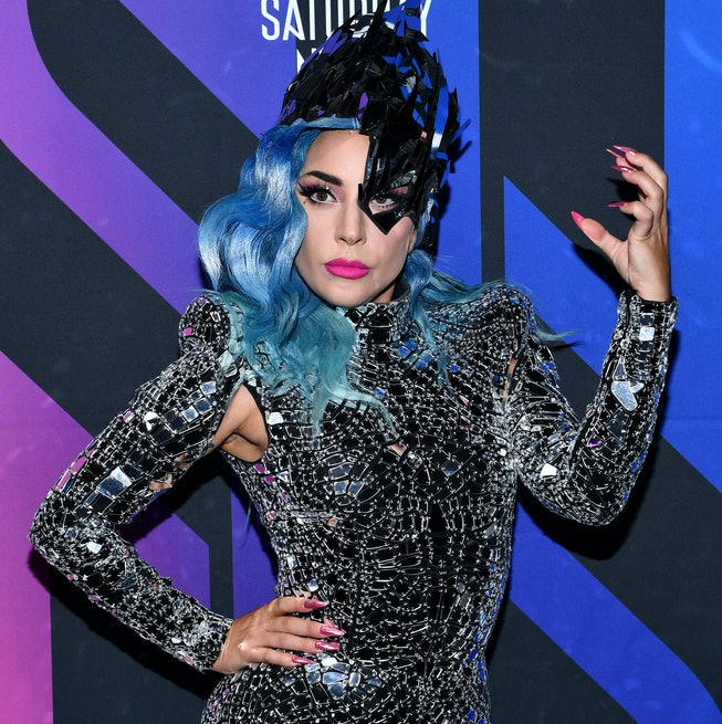 Lady Gaga attends AT&T TV Super Saturday Night at Meridian at Island Gardens on February 01, 2020 in Miami, Florida.