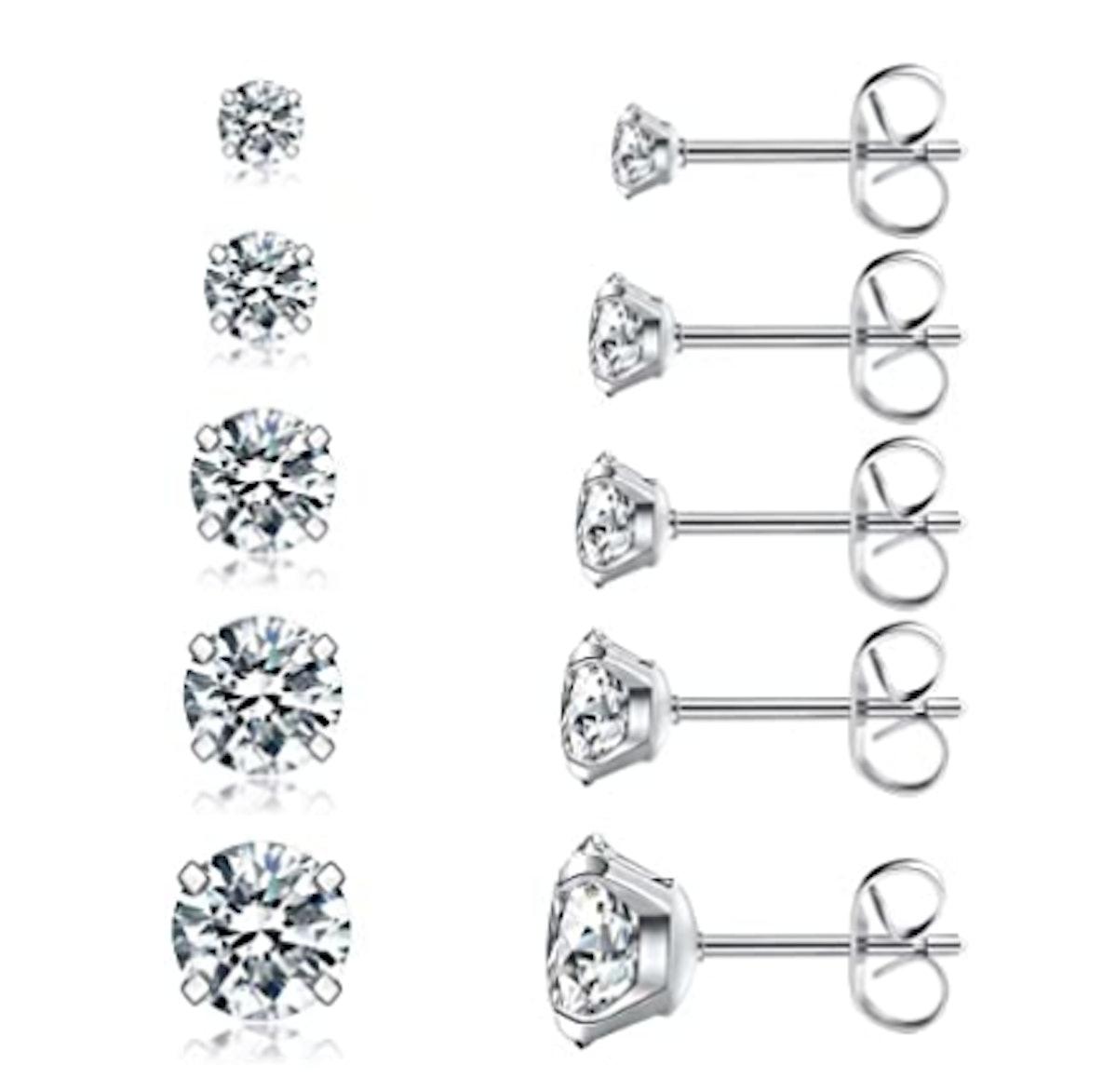 Wssxc Cubic Zirconia Earrings