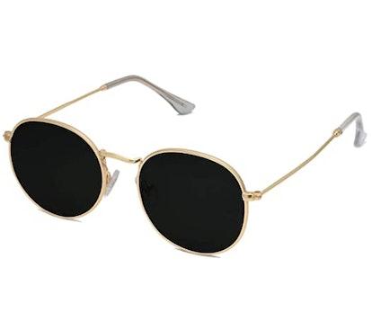 SOJOS Round Polarized Sunglasses