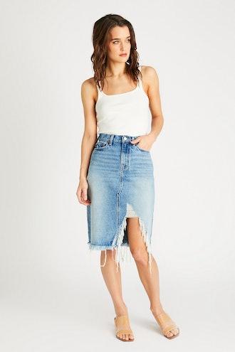 Johanna A Line Midi Skirt