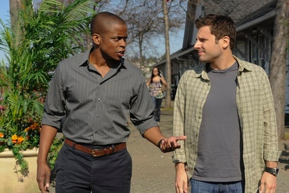 Gus and Shawn on Psych via the NBCUMV press site