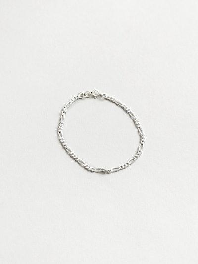 Mila Anklet in Sterling Silver