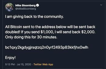 Bloomberg Twitter Hack