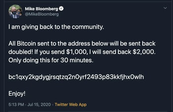 Bloomberg Twitter Hack
