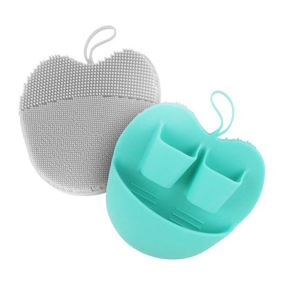 INNERNEED Silicone Facial Scrubbers (2-Pack)