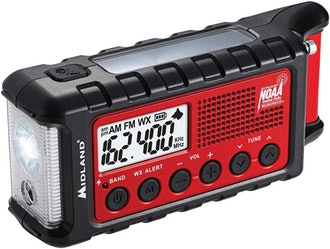 Midland ER310 Emergency Crank Weather Radio