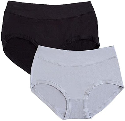 Warm Sun Women's Bamboo Viscose Fiber Panties (2-Pack)