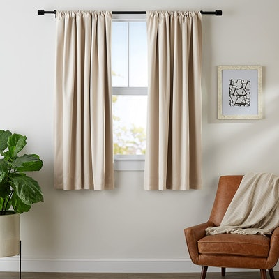 AmazonBasics Room Darkening Blackout Window Panel Curtains (2-Pack)