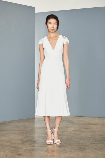 LW142 - Crepe Midi Dress