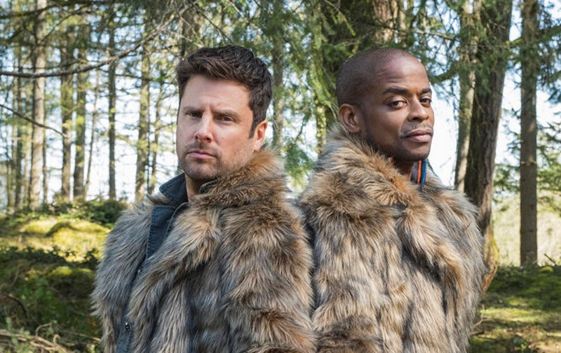 Shawn and Gus in Psych 2 via the NBCUMV press site