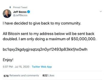 Twitter Jeff Bezos Hack