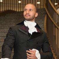 'Hamilton' star Sydney James Harcourt on knitting, Mariah Carey, and ballet