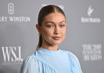 US model Gigi Hadid attends the WSJ Magazine 2019 Innovator Awards at MOMA on November 6, 2019 in New York City.
