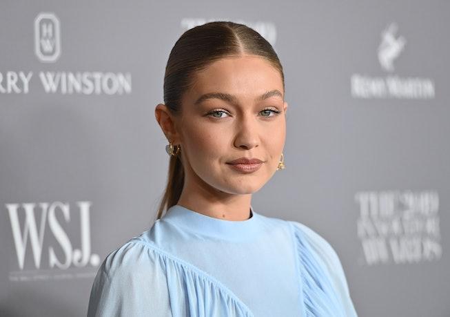 US model Gigi Hadid attends the WSJ Magazine 2019 Innovator Awards at MOMA on November 6, 2019 in Ne...