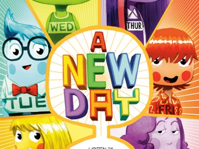 The Cover for A New Day