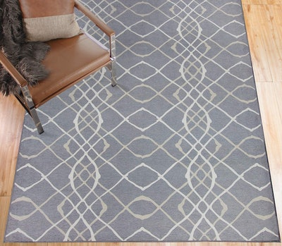 RUGGABLE Washable Stain Resistant Indoor Area Rug