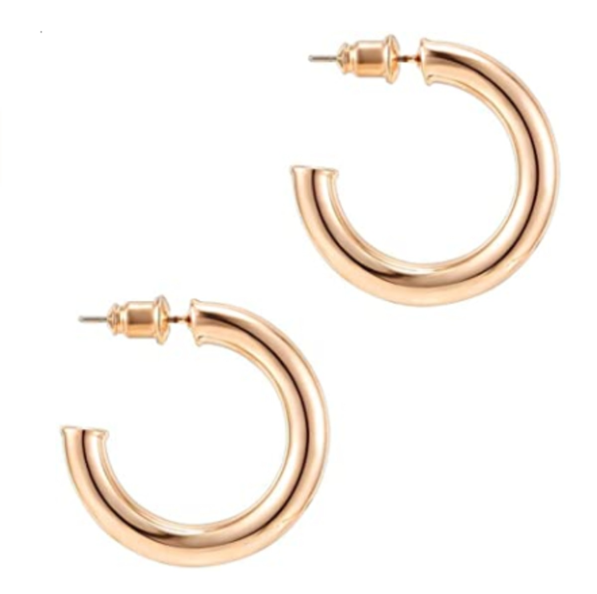 PAVOI Lightweight Hoop Earrings