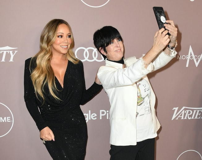 Mariah Carey and Diane Warren attend Variety's 2019 Power Of Women: Los Angeles Presented By Lifetime at the Beverly Wilshire Four Seasons Hotel on October 11, 2019 in Beverly Hills, California.